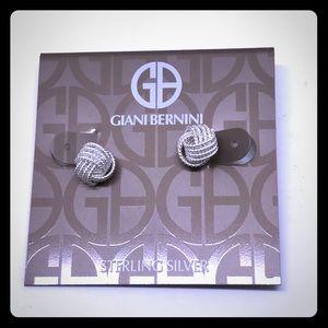 Gianni Bernini Sterling Silver Earrings [JW-32]